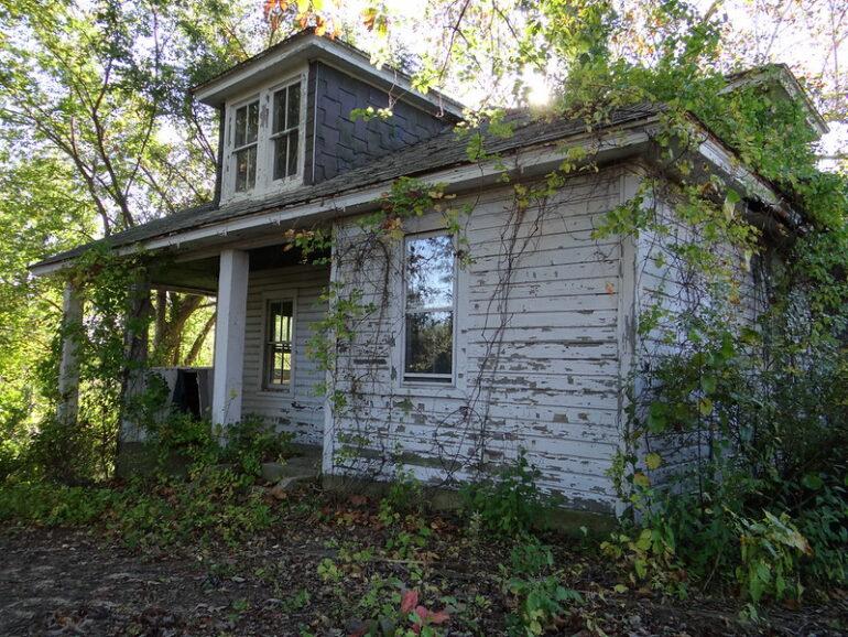 an older home that needs work