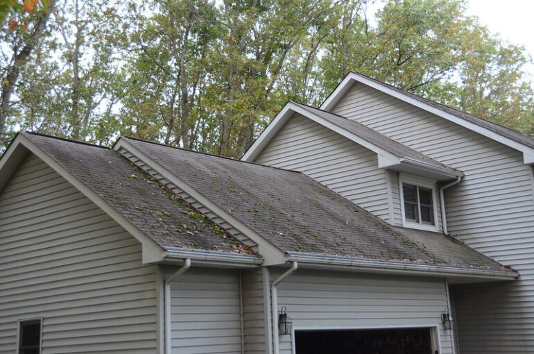 a house that needs a new roof