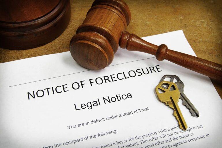 a Louisiana Notice of Foreclosure