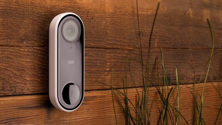 a video doorbell