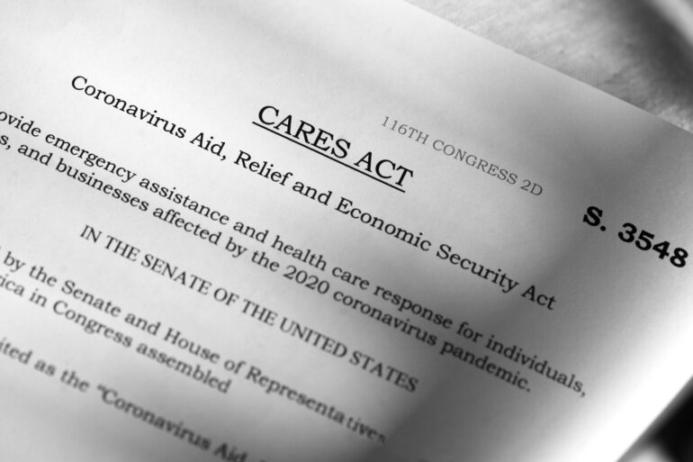 The CARES Act document